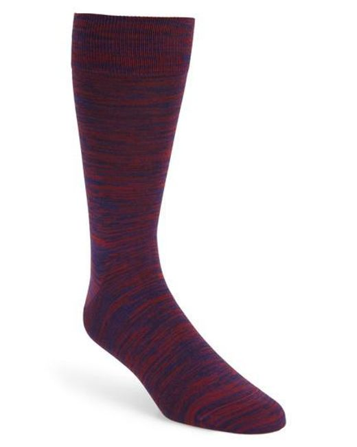 Bugatchi - Purple Solid Socks for Men - Lyst