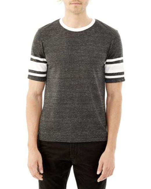 Alternative Apparel | Black 'touchdown' Football T-shirt for Men | Lyst