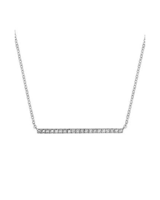 CARRIERE JEWELRY - Metallic Carriere Diamond Bar Pendant (nordstrom Exclusive) - Lyst