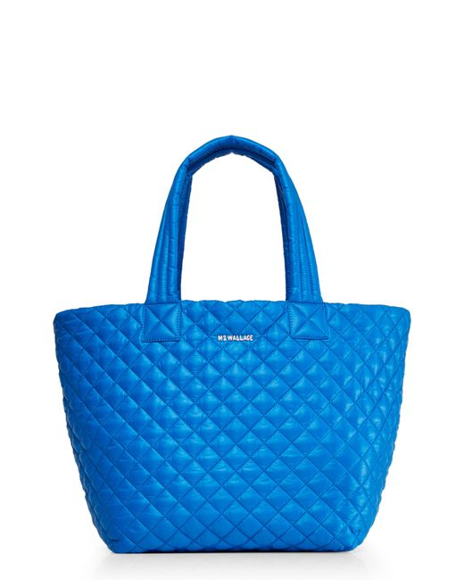 MZ Wallace - Blue 'medium Metro' Quilted Tote - Lyst