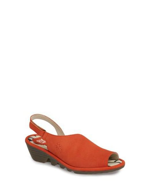 Fly London - Multicolor Palp Wedge Sandal - Lyst