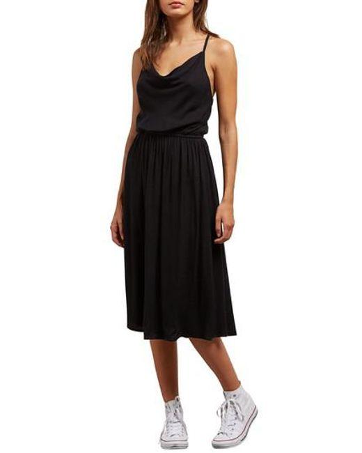Volcom - Black Mystic Mama Dress - Lyst