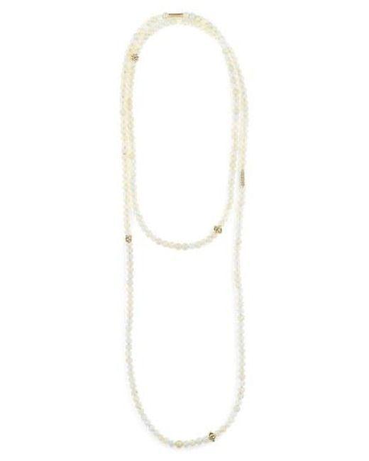 Lagos - Metallic Caviar Icon Multistrand Necklace - Lyst