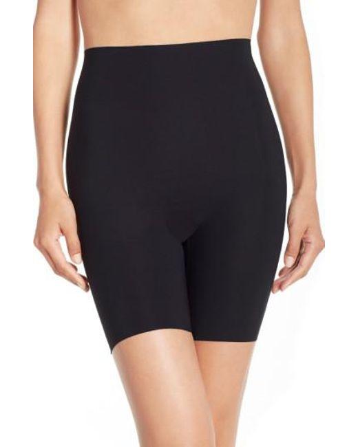 Commando - Black 'control' High Waist Shaping Shorts - Lyst