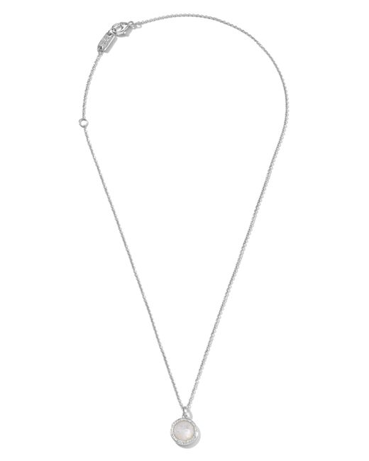 Ippolita - White 'rock Candy - Mini Lollipop' Pendant Necklace - Lyst
