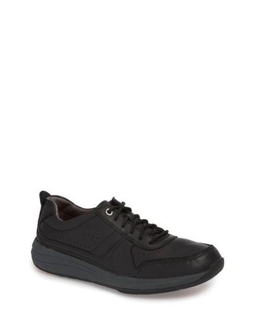 Clarks - Black Clarks Unstructured - Un Coast Form Sneaker for Men - Lyst