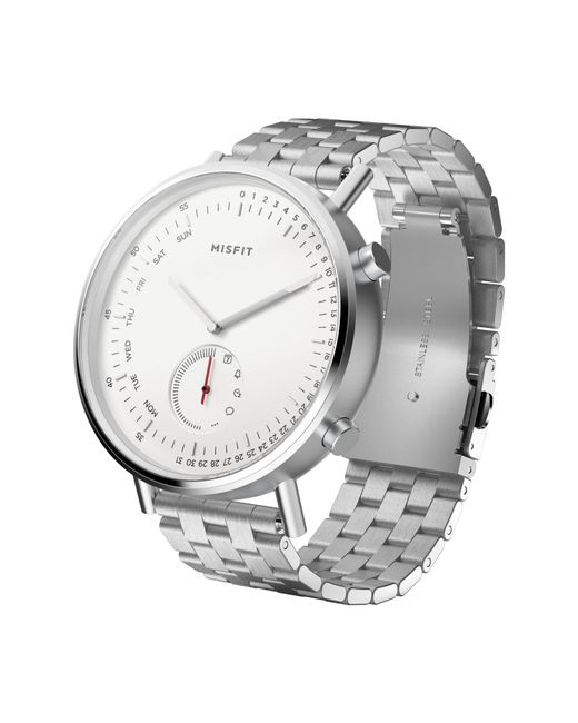 Misfit - Metallic Command Hybrid Bracelet Smart Watch - Lyst