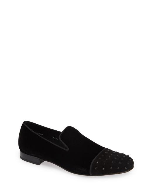 Mezlan - Black Abel Cap Toe Venetian Loafer for Men - Lyst