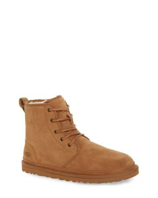 Ugg - Brown Ugg Harkley Lace-up Boot - Lyst