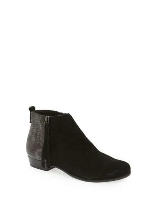 Munro   Black Lexi Leather Boots   Lyst