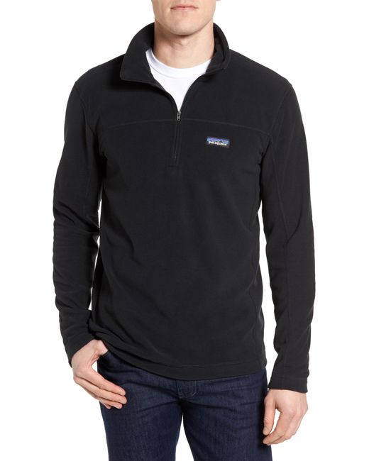 Patagonia - Black Fleece Pullover for Men - Lyst