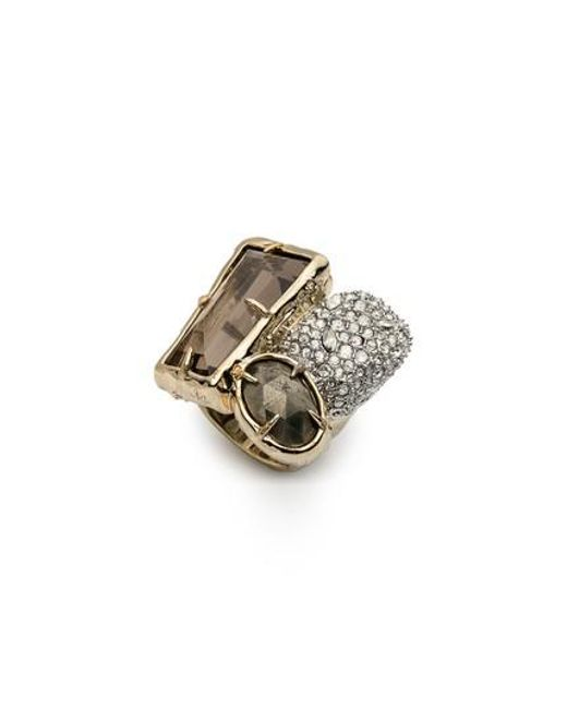 Alexis Bittar - Metallic Elements Crystal Statement Ring - Lyst