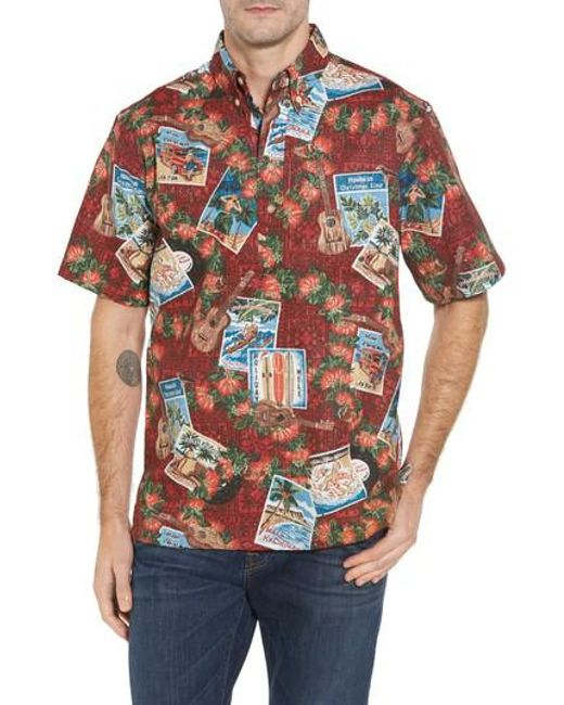 Reyn Spooner | Multicolor Hawaiian Christmas 2017 Sport Shirt for Men | Lyst