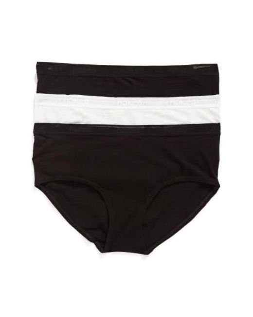 Naked | 3-pack Stretch Pima Cotton Hipster Briefs, Black for Men | Lyst