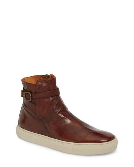 Frye | Brown Owen Jodhpur High Top Sneaker for Men | Lyst