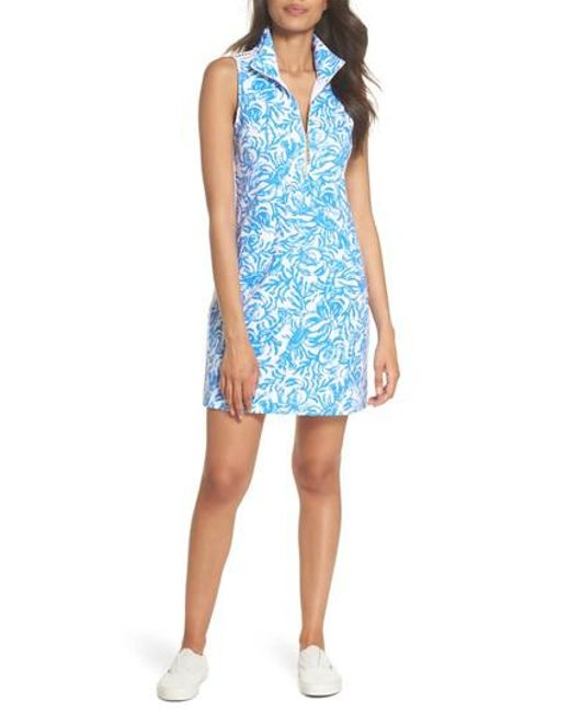 Lilly Pulitzer - Blue Lilly Pulitzer Skipper Sleeveless Shift Dress - Lyst