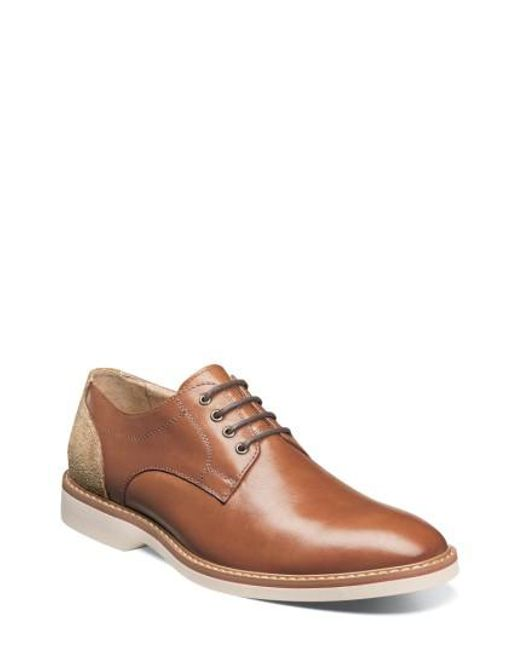 Florsheim | Brown Union Buck Shoe for Men | Lyst