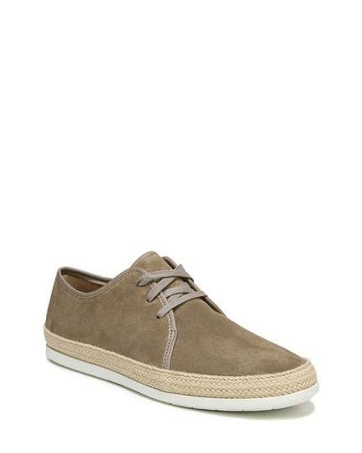 Vince - Brown Chandler Espadrille Sneaker for Men - Lyst