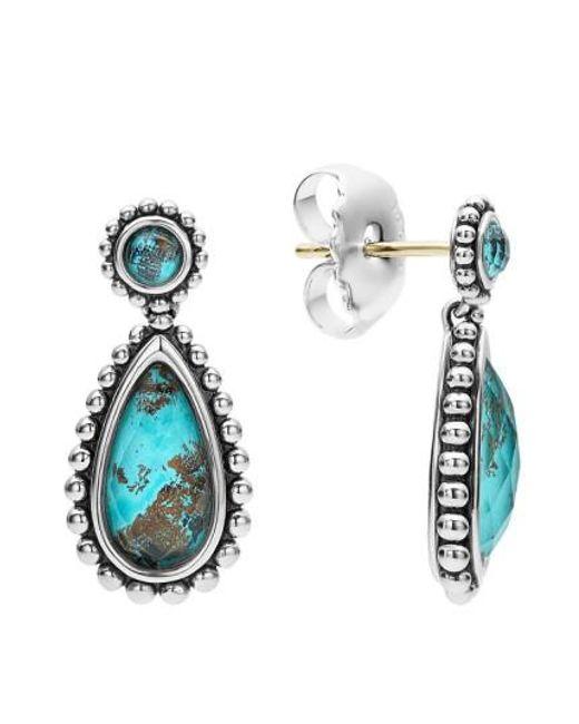 Lagos - Multicolor 'maya' Teardrop Earrings - Lyst