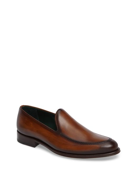 Mezlan - Brown Rodin Apron Toe Loafer for Men - Lyst