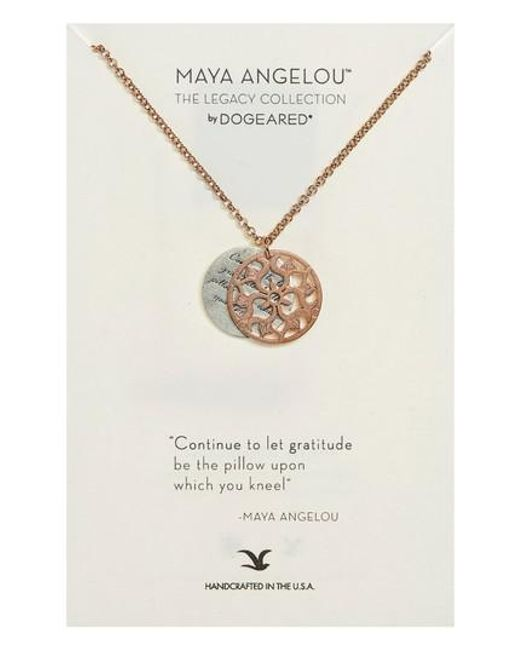 Dogeared   Metallic The Legacy Collection - Continue To Let Gratitude. Pendant Necklace   Lyst