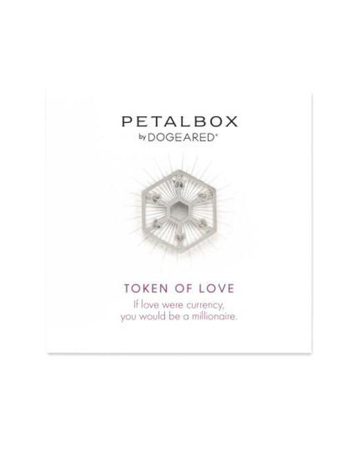 Dogeared   Metallic Petalbox Token Of Love Enhancer (nordstrom Exclusive)   Lyst