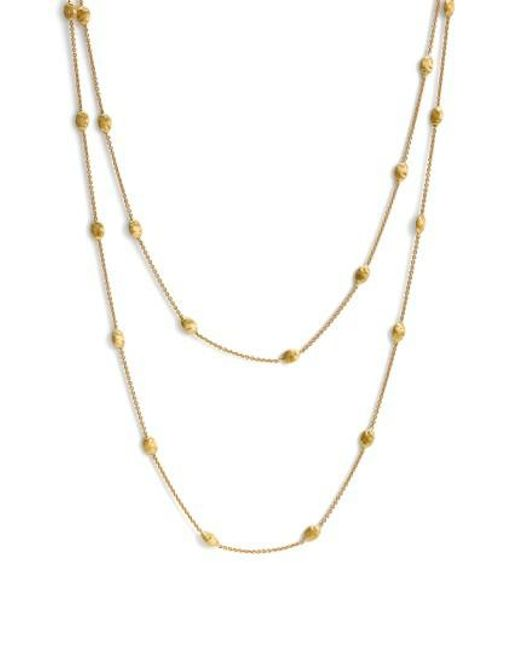 Marco Bicego | Yellow 'siviglia' Long Necklace | Lyst