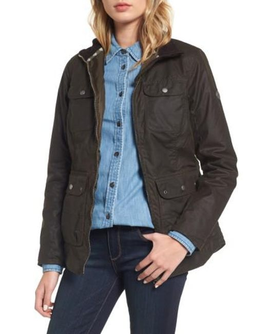 Barbour | Green Filey Water Resistant Waxed Canvas Jacket | Lyst