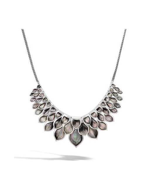 John Hardy - Metallic Legends Naga Bib Necklace - Lyst