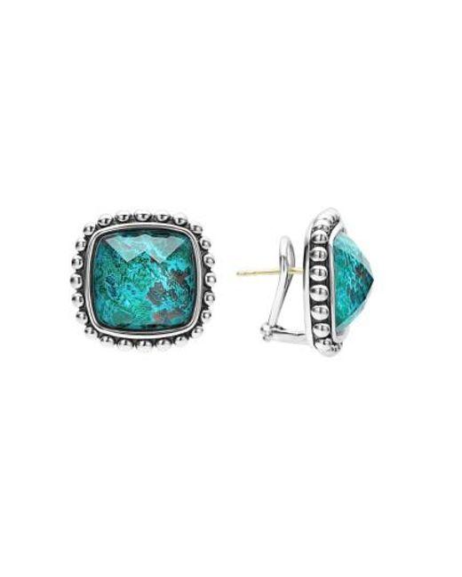 Lagos   Blue Maya Semiprecious Stone Stud Earrings   Lyst