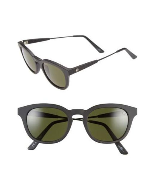 Electric - Black 'la Txoko' 49mm Sunglasses - Lyst