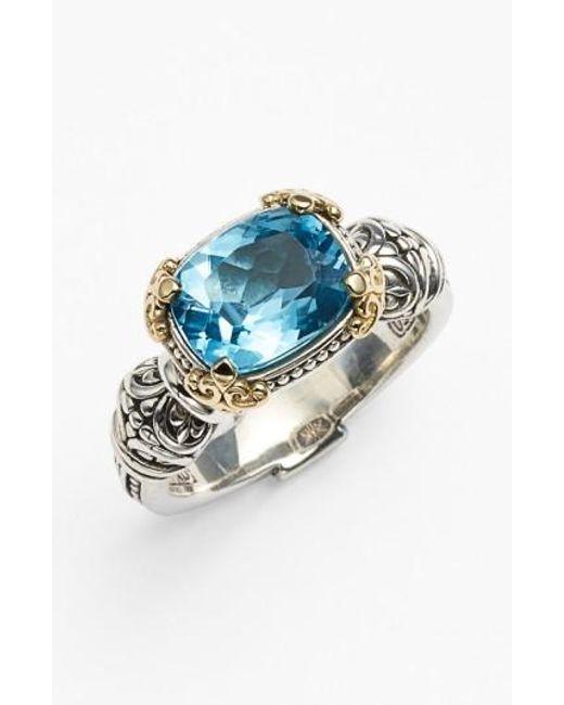 Konstantino - Blue Hermione Stone Ring - Lyst