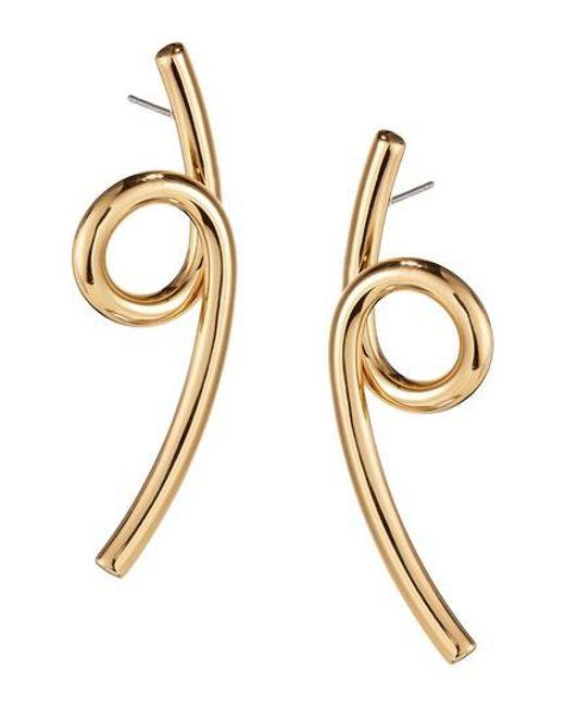 Jenny Bird - Metallic Coil Earrings - Lyst