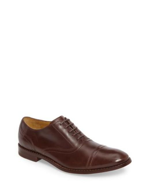 Michael Bastian - Brown Caan Cap Toe Oxford for Men - Lyst