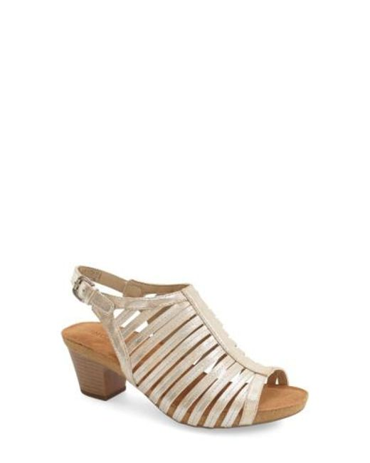 Josef Seibel - Natural 'ruth 21' Sandal - Lyst