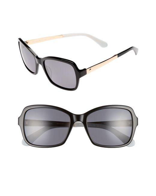 Kate Spade - Multicolor Annjanette 55mm Polarized Sunglasses - - Lyst