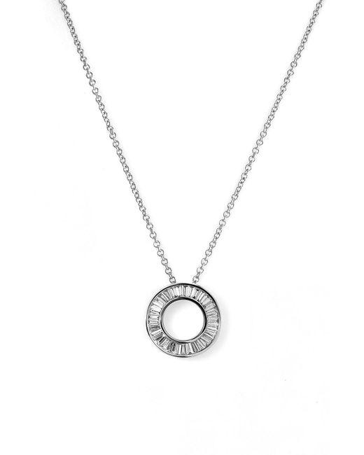 Bony Levy - Metallic Circle Of Life Small Diamond Pendant Necklace (nordstrom Exclusive) - Lyst