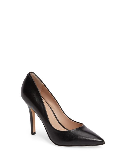 Charles David - Black Maxx Pointy Toe Pump - Lyst