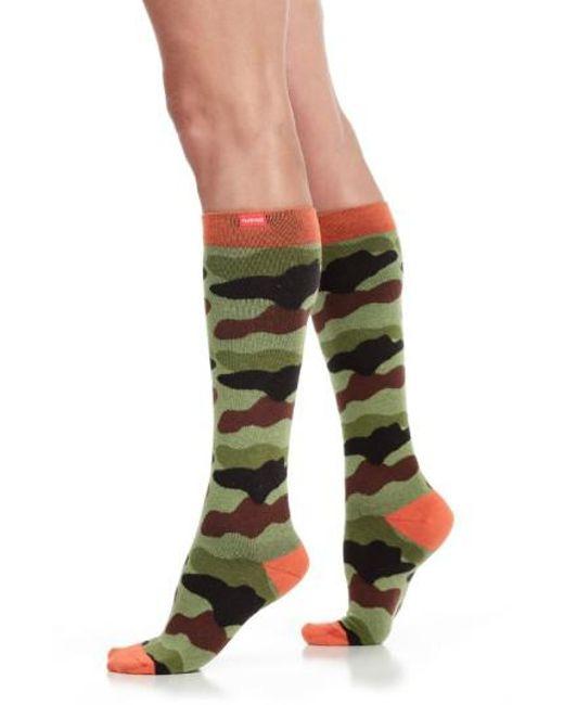 VIM & VIGR   Green Camouflage Compression Trouser Socks for Men   Lyst