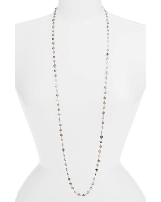 Ela Rae - Metallic Diana Coin Necklace - Lyst