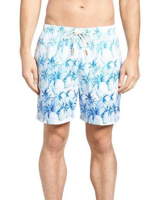 Tommy Bahama - Blue Naples Fruit Of Tulum Swim Trunks for Men - Lyst