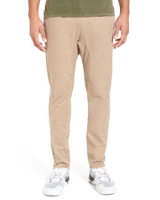 Zanerobe - Natural 'salerno' Chino Jogger Pants for Men - Lyst