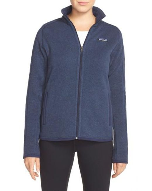 Patagonia | Blue 'better Sweater' Jacket | Lyst