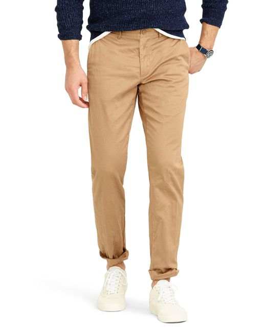 J.Crew - Brown 484 Slim Fit Stretch Chino Pants for Men - Lyst