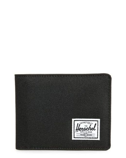 Herschel Supply Co. | Black Hank Rfid Bifold Wallet for Men | Lyst
