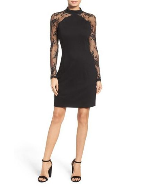 BB Dakota | Black Wells Dress | Lyst