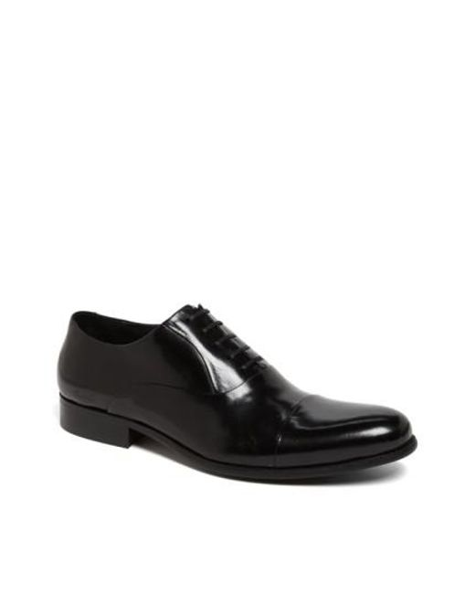 Kenneth Cole - Black 'chief Council' Cap Toe Oxford for Men - Lyst