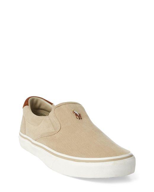 Polo Ralph Lauren - Natural Thompson Corduroy Slip-on Sneaker for Men - Lyst