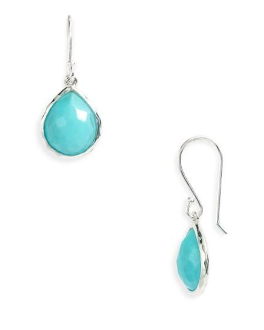 Ippolita | Metallic 'wonderland - Rainbow Teeny' Teardrop Earrings | Lyst