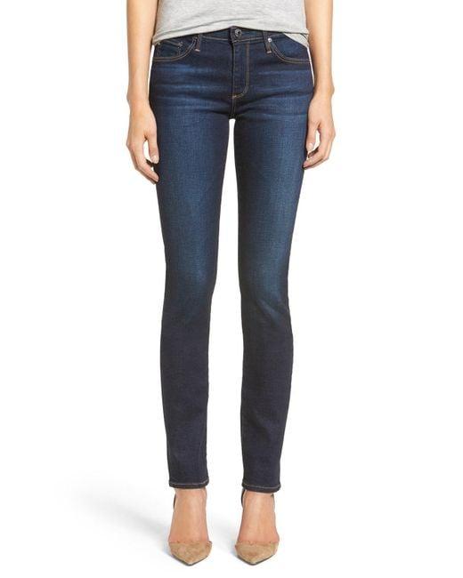 AG Jeans - Blue Harper Slim Straight Leg Jeans - Lyst